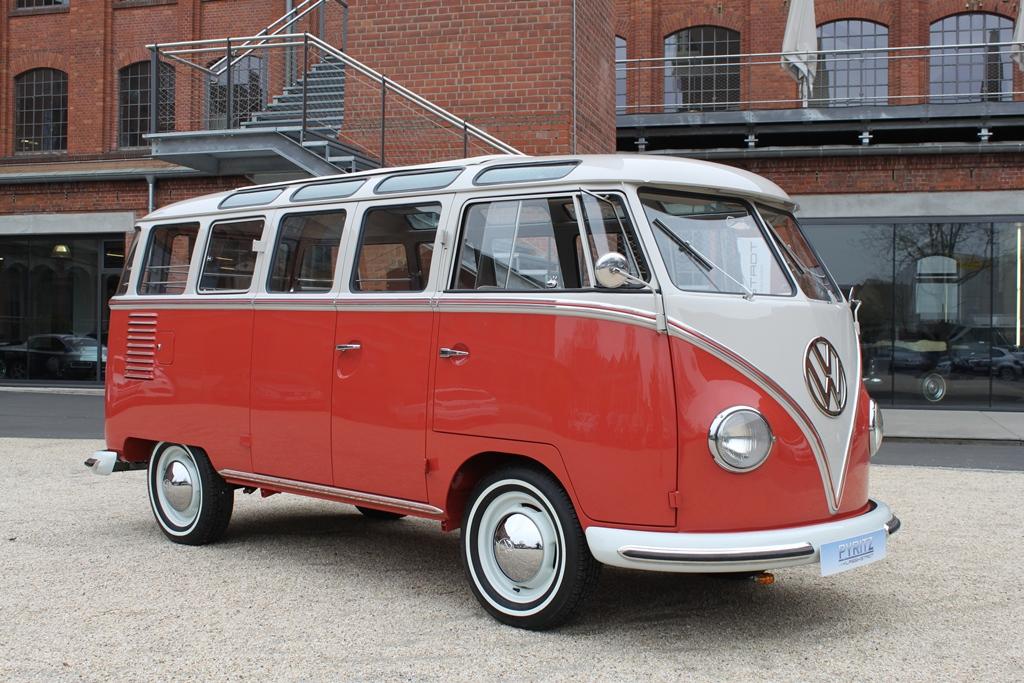 volkswagen vw t1 samba bus pyritz classics gmbh in der klassikstadt. Black Bedroom Furniture Sets. Home Design Ideas