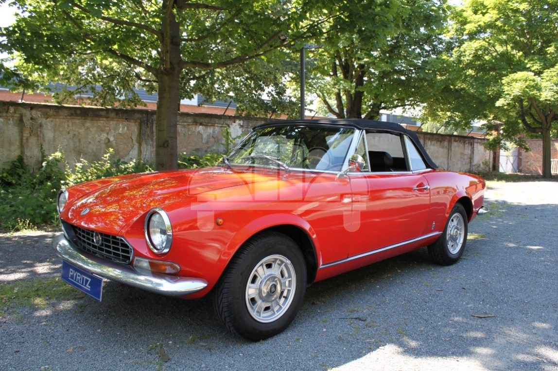 Fiat 124 Sport Bs 1 Pyritz Classics Gmbh In Der Klassikstadt 1971 Spider Erstzulassung Previous Next